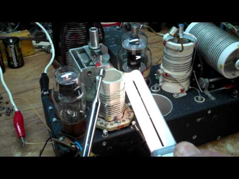 ARC-5 Radio Transmitter Oscillator Demonstration