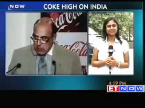 Coca Cola to invest: 5 billion in India by 2020