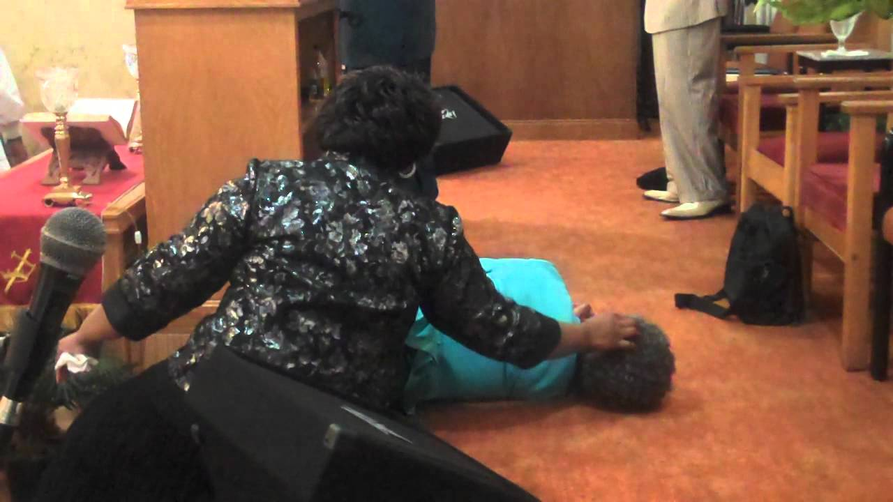 Hilarious   Woman Drunk Under Holyghost