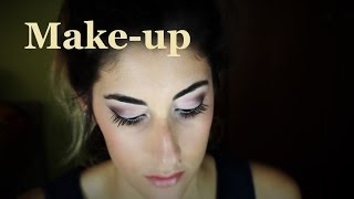 Maquillaje de noche rosa | Pink night Make-up | Laia López