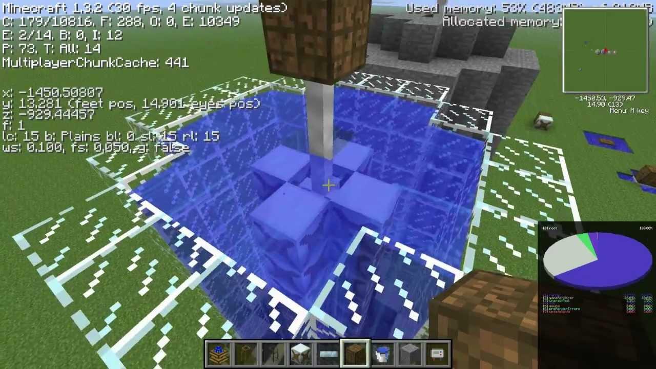Industrial Craft  Water Turbine