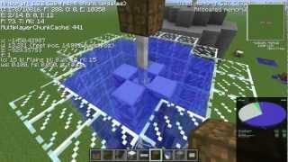 Industrial Craft Water Mill Tutorial