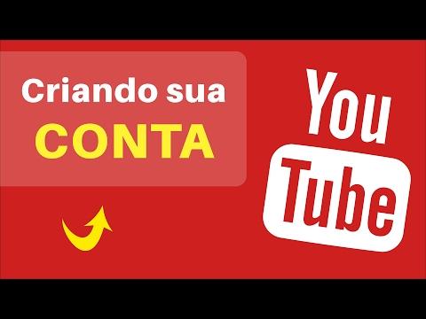 Como CRIAR Uma CONTA no YouTube e Iniciar o Seu Canal | Atualizado 2017 thumbnail