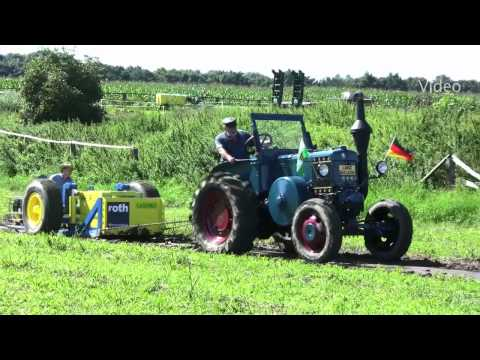 Lanz Bulldog in Action / Tractor Pulling