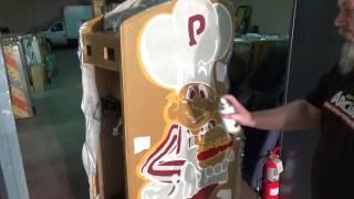 Burger Time arcade restore part 3