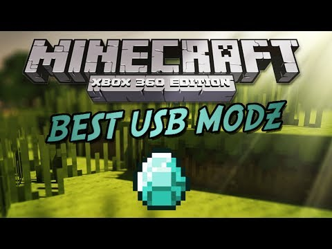 Minecraft XBOX 360: BEST USB MODS Download +Tutorial [2014]