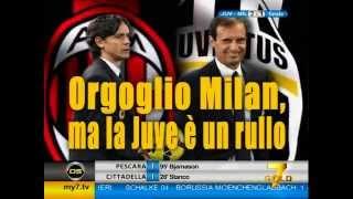 Diretta Stadio 7Gold (JUVENTUS MILAN 3-1) Milan KO, Juve avanti tutta!
