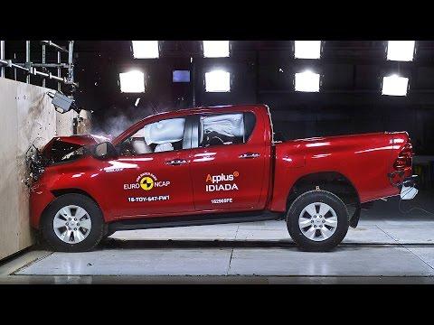 Crash Tests 2016 Toyota Hilux