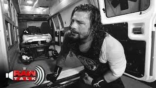 Roman Reigns is assaulted backstage by Braun Strowman: Raw Talk, April 30, 2017 (WWE Network)