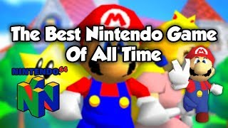 The Greatest Nintendo Game Of All Time - Super Mario 64 Live