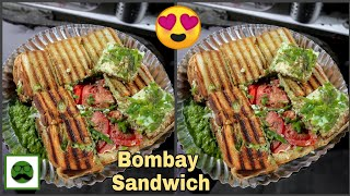 Bombay Sandwich Special || Indian Street Food|| Anand Stall Sandwich Mumbai