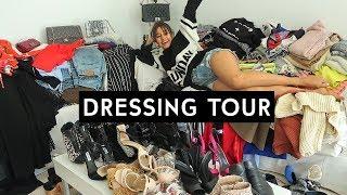 JE VIDE MON DRESSING + DRESSING TOUR || Léna Situations