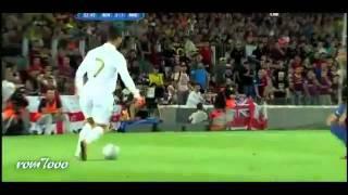 اجمل حركات Cristiano Ronaldo vs Barcelona 2012