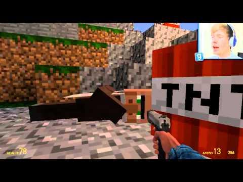 TINY HEAD VILLAGERS | Garry's Mod: Minecraft Mods (GMod)