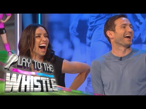 Christine Bleakley Hates when Frank Lampard Bites his Toenails   Play to the Whistle