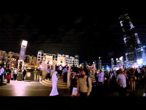 Burj Khalifa-The Dubai Mall by night
