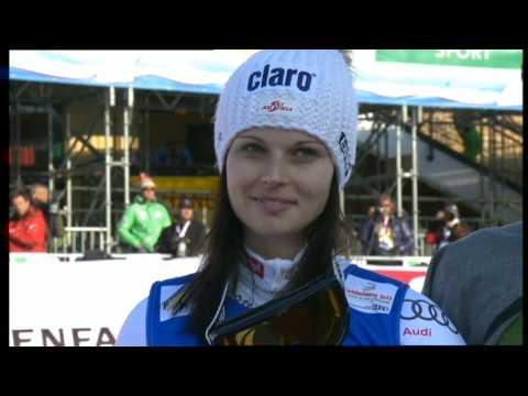 Anna Fenninger Abschluss der Ski WM in Schladming