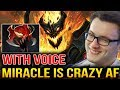 Miracle- [With Voice] HE IS A CRAZY GUY Dota 2