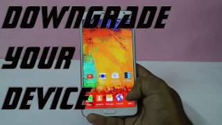 how to downgrade note 3 neo lollipop to kitkat