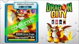 Dragon City - Fervor Dragon Cup [Christmas Tournament 3]