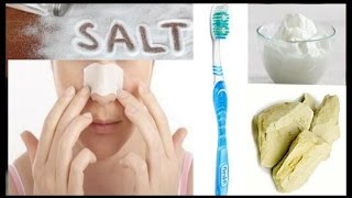 How to remove blackheads,Get rid of blackheads in Three steps naturally at home llAMAZING YOU