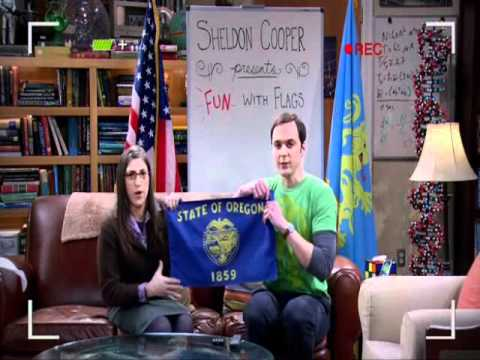 Flags The Big Bang Theory