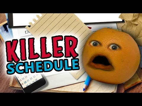 Annoying Orange - Killer Schedule (feat. Ross Everett & Eric Schwartz)