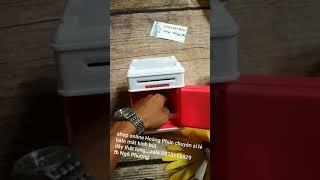 Sản phẩm két sắt mini.ống tiết kiệm kiêm soi tiền giả.đổi mật khẩu két đơn giản