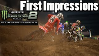 Monster Energy Supercross 2 - First impressions