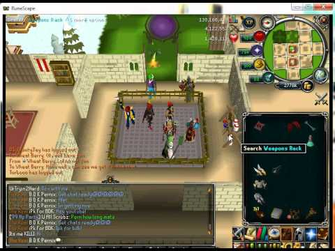 Runescape 99 Constitution (HP) Party!