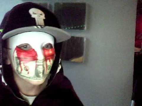 Hollywood Undead J Dog Mask 2013 Hollywood Undead J-Dog...