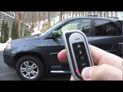 Viper 5701 Remote Start & Alarm (Acura MDX)