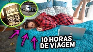 VLOG - CHEGAMOS PORTUGAL + TOUR NO APÊ