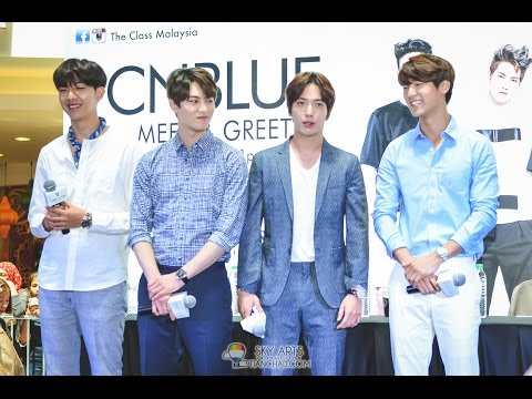 CNBLUE x THE CLASS MALAYSIA MEET & GREET 2015 | 10 LUCKY BOICE GOT INDIVIDUAL GROUP PHOTO!
