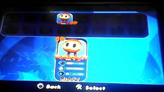Pac - Man World Rally All Characters and Unlocked Characters on PSP