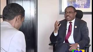 ethiopian prime minister hailemariam interview 08/08/2015