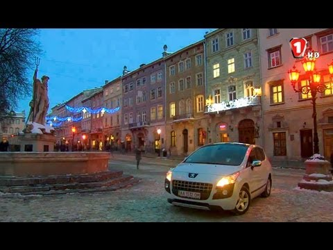 Peugeot 3008. Путешествие во Львов на праздник шоколада