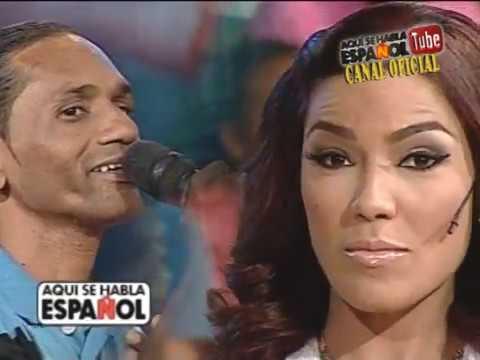 El gran pretendiente de Ibelka Ulerio en el karaoke de Aqui se Habla Espanol