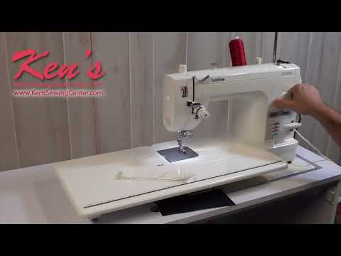Brother PQ1500SL Demonstration by Ken's Sewing Center in Muscle Shoals. AL