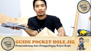Menyambung Papan Kayu Rapi Kuat dg Pocket Hole Jig Wood Joining Tool Alat Penyambung Penggabung Kayu