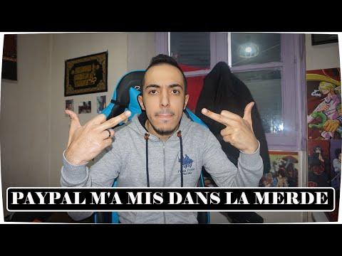 PAYPAL M'A MIS DANS LA MERDE !!