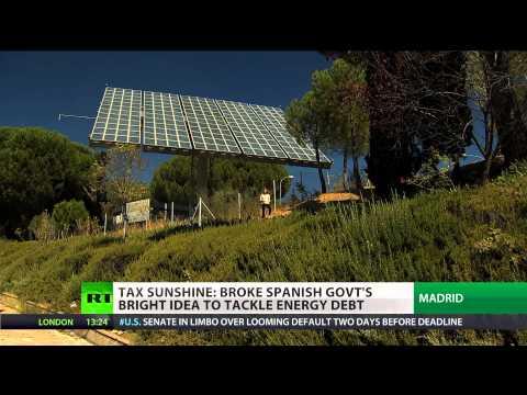 Tax Sunshine: Spain govt's bright idea to tackle energy debt