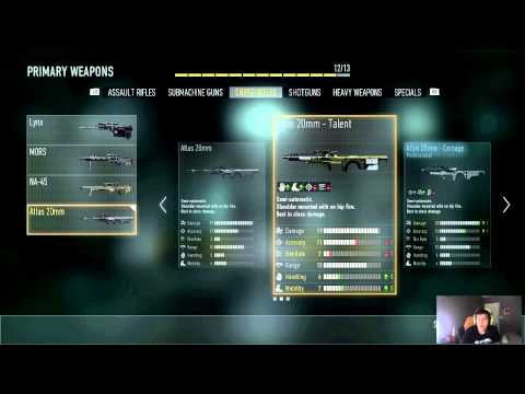 Pamaj: Advanced Warfare Sniping Class Setup