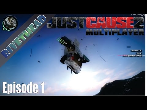 "Just Cause 2 Multiplayer - E1 ""Goofing with Armourtime, Blackops and Cartooner"""