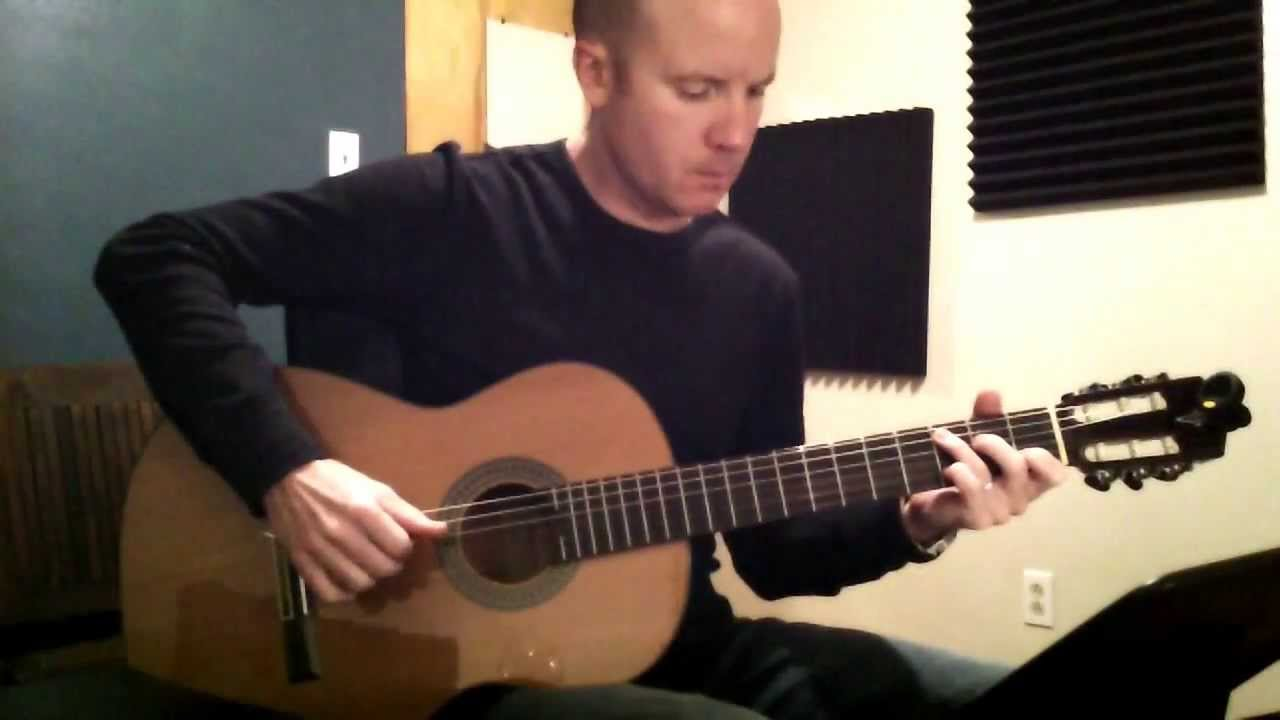 The Neighbourhood: Sweater Weather for classical guitar - YouTube