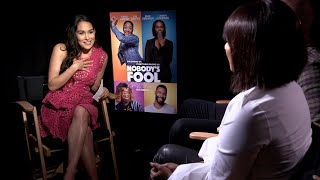 "Tiffany Haddish yells at Brie Bella when a ""Nobody's Fool"" interview gets heated"