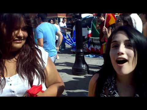 Little Italy Toronto (Euro Cup Finals 2012) - Sexy Spanish Girls Interview - July 1, 2012 (2 of 12)