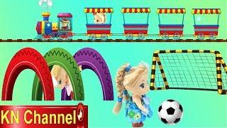 KN Channel ĐI XEM XIẾC THÚ VUI NHỘN TẬP 3 THỬ THÁCH TRÒ CHƠI TRONG CÔNG VIÊN