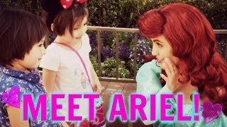 DISNEY LAND ADVENTURES: A&Z MEET ARIEL