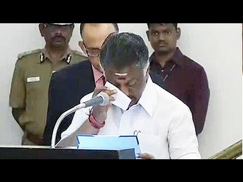 Tamil Nadus new chief minister colleagues break down